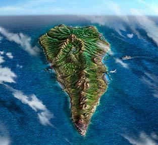 La Palma mappa