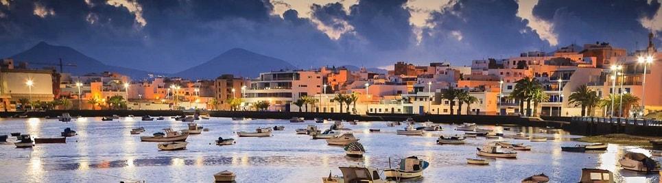 Lanzarote - la capitale Arrecife