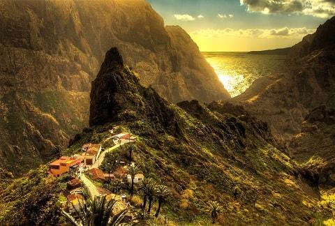 Tenerife - La pittoresca città di Masca, un tempo villaggio dei pirati