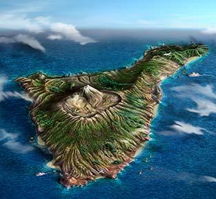 Tenerife mappa